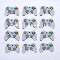 Fondant Cupcake Toppers  Video Game Controller by TopItCupcakes