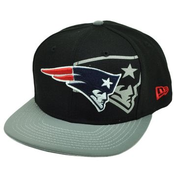 NFL New Era 9Fifty 950 2T Treasure New England Patriots Snapback Hat Cap Black