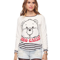 Who Cares Care Bears Sweatshirt | FOREVER21 - 2000033437