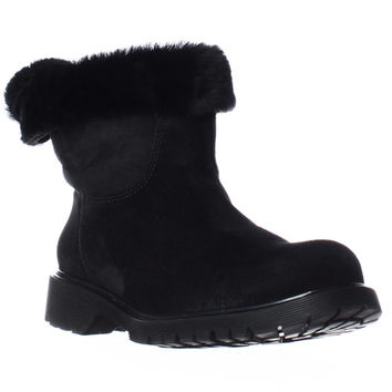 La Canadienne Honey Shearling Lined Winter Boots - Black