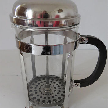 Vintage French, Chambord, Melior, French Press, 12 Cup, Cafatiere