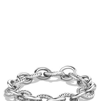 Women's David Yurman 'Oval' Large Link Bracelet