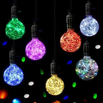 Christmas LED Light Bulb E27 Starry Fairy String