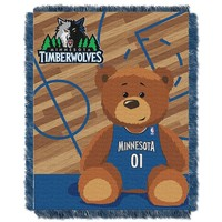 Minnesota Timberwolves Baby Jacquard Throw (Mtw Team)
