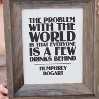 The Problem With the World Print