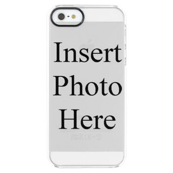 Custom Uncommon Clearly Deflector iPhone 5 Case