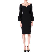 Puffed-sleeve detail dress - ALEXANDER MCQUEEN - NEW IN - Women | selfridges.com