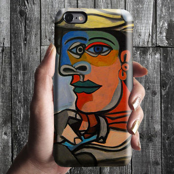 Marine - Pablo Picasso iPhone Case 6, 6S, 6 Plus, 4S, 5S. Mobile Phone Cell. Art Painting. Gift Idea. Anniversary. Gift for him and her