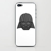 Darth Vader Star Wars iPhone & iPod Skin by DanielBergerDesign