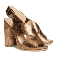 H&M - Sandals - Copper - Ladies