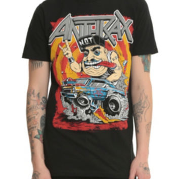 Anthrax Not Man Hot Rod T-Shirt
