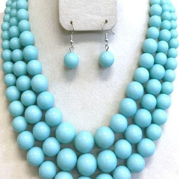 Nora Layered Beaded Necklace