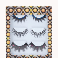 Rhinestoned & Stud False Lashes
