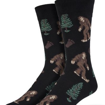 Bigfoot Men's Crew Socks