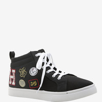 Harry Potter Patches Canvas Hi-Top Sneakers