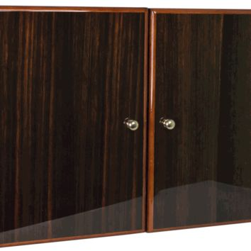 Savoy Macassar Small Royal Cabinet Humidor - Holds 100 Cigars