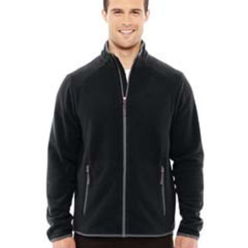 North End Sport Red Men's Vector Interactive Polartec Fleece Jacket