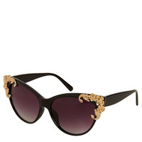 Baroque Cateye Sunglasses - Topshop USA