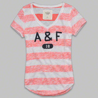Womens Drew Tee | Womens Clearance | Abercrombie.com