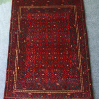 Handmade Vintage Oriental Rug Devetnaest | Style and Decor