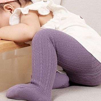 Infant Soft Cotton Baby Girl Tights