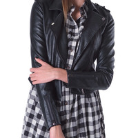 Speedy Moto Jacket - Black Leather