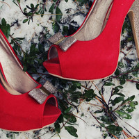 Mistletoe Party Shoes