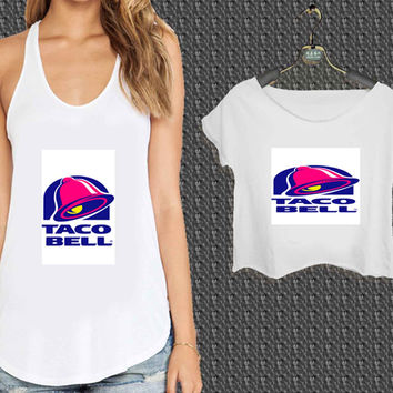 taco bell logo For Woman Tank Top , Man Tank Top / Crop Shirt, Sexy Shirt,Cropped Shirt,Crop Tshirt Women,Crop Shirt Women S, M, L, XL, 2XL*NP*