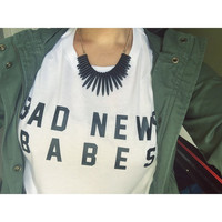 Bad News Babes Women's Casual T-Shirt