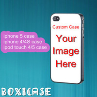 Custom case---iphone 4 case,iphone 5 case,ipod touch 4 case,ipod touch 5 case,in plastic,silicone and  black , white.