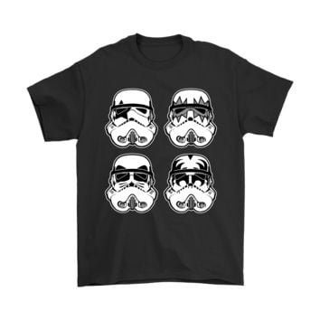 ONETOW Stormtrooper Rock Band KISS Star Wars Shirts
