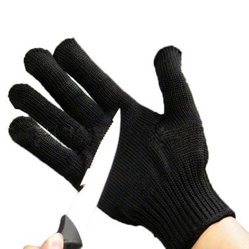 1pcs Anti-cut Fishing Gloves Protective Knife Anti-cutting Full Finger Gloves For Fishing