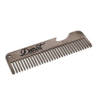 STAINLESS COMB W/BOTTLE OPENER 4""