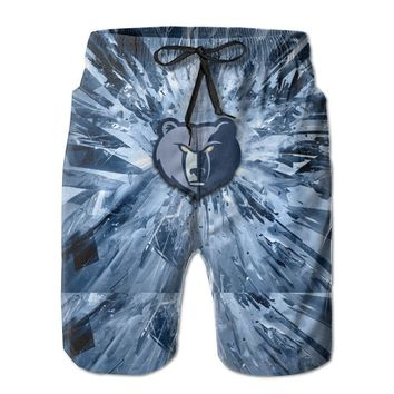 41-01 Mens Fashion Casual Beach Shorts
