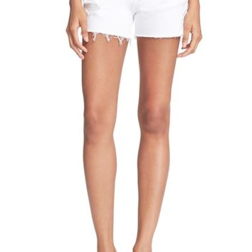 FRAME Distressed Denim Shorts | Nordstrom