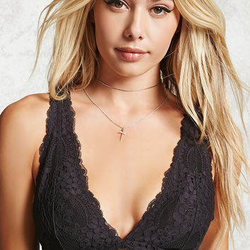 Lace V-Neck Bralette