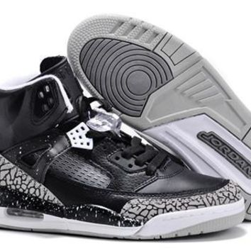 Hot Nike Air Jordan 3.5 Spizike Retro Women Shoes Black White
