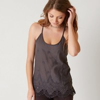 BKE BOUTIQUE MESH TANK TOP