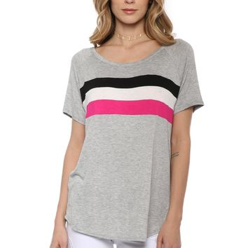 Sunday Stevens Colorblock Tee