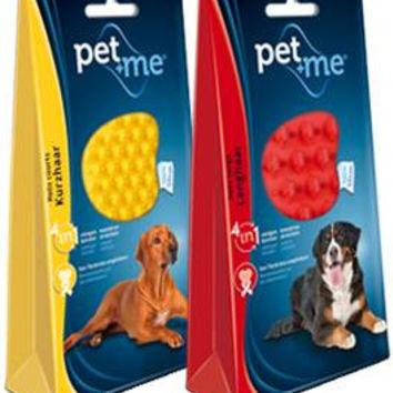 Pet+Me Dog Cat Pet Silicone Brush