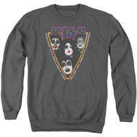 KISS Strutter Adult Sweatshirt - KISS - K - Artists/Groups - Rockabilia