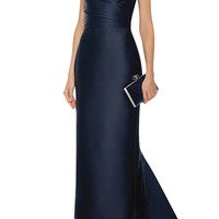 Draped Column Gown | Moda Operandi
