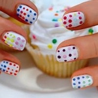 Spring Nail Art Design Ideas on we heart it / visual bookmark #16186441