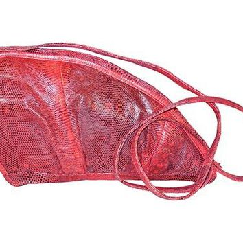 Lizard Skin Handbag - On Sale