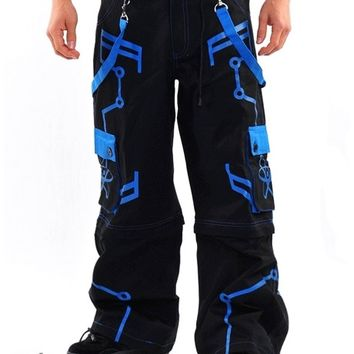 Amok Blue Nuke Pants : Cyber Rave Pants and Clothing