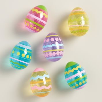 Easter Egg Glitter Putty Set of 6