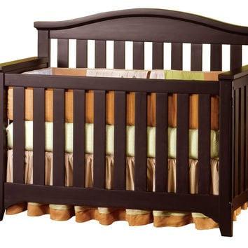 Child Craft Hawthorne Convertible Crib in Espresso