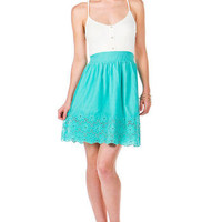 Del Mar Eyelet Dress