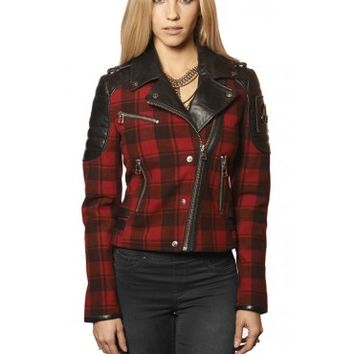 GEORGIE MOTO JACKET - Women - Shop | Moose Knuckles
