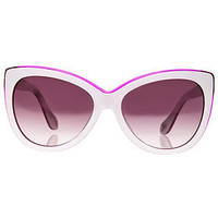 Vivienne Westwood Anglomania Sunglasses Pearly Ivory and Purple